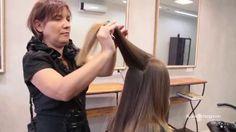 Corte de cabelo longo em camadas