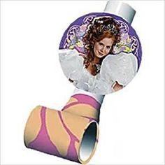 Disney Enchanted Blowouts 8pcs Party Favors Birthday Supplies Hallmark Girly New #Disney #Any