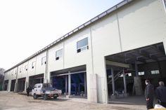 2014 상반기에 준공예정인 영등포자원순환센터 내 재활용품 선별장 외부