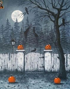 Vintage Halloween: Art by Alan Dellascio