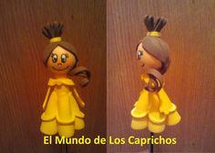 Fofulapiz princesa Disney - Bella