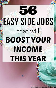 Looking for some easy and flexible way to make money on the side this year? This post will give you some very surprising and legitimate side jobs you can do while doing your full time job. Just click through and start earn some extra cash! #extramoney #sidehustle #workfromhome