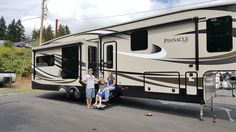 KEN's new 2016 Jayco Pinnacle 36REQS! Congratulations and best wishes from Clear Creek RV Center and Marc Plum.