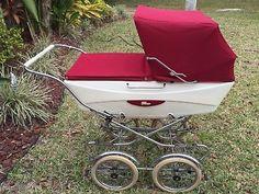 Italian Baby, Vintage Italian, Vintage Pram, Peg Perego, Prams And Pushchairs, Baby Carriage, Kids And Parenting, Baby Strollers, Burgundy