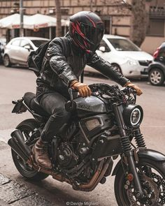 Custom Motorcycles, Gear, and News Cafe Racer Bikes, Cafe Racer Motorcycle, Motorcycle Design, Motorcycle Style, Motorcycle Gear, Women Motorcycle, Cafe Racers, Vintage Bikes, Vintage Motorcycles