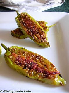 THE CHEF and HER KITCHEN: Aloo Stuffed Chilli Peppers | Bharwa Mirch