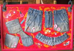 Warm Jeans Storage 1 of Casual Shorts, Artsy, Warm, Storage, Jeans, Women, Fashion, Purse Storage, Moda
