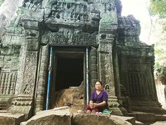 I wanted a photo of this woman selling her crafts at Ta Prohm so I asked our guide to translate for us. I love being able to communicate with the locals! Ta Prohm, Siem Reap, The Locals, Cambodia, Things I Want, Woman, My Love, Crafts, Manualidades