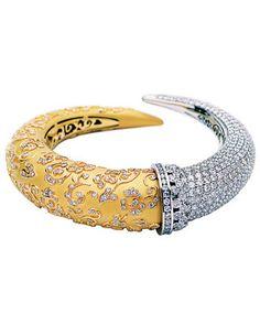 Carrera Y Carrera Gold Diamond Bracelet