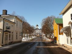 Street Raatihuoneenkatu, Kristiinankaupunki