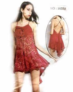 Maroon Sexy Short Style Nighty - MN - 2037 - Nighty - diKHAWA Online  Shopping in 24dbc6206