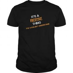 Awesome Tee Reese thing you wouldn't understand Shirts & Tees