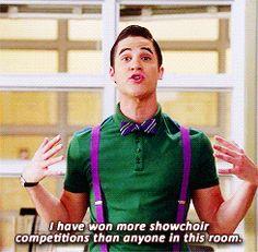 #Glee - Blaine Anderson