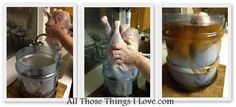 How to Brine a Turkey and Why You Want To.  Or Turkey Synchronized Swimming Practice?
