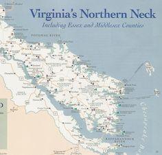 Northern neck Va Map   Los Altos, California