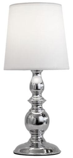 Nini bordlampe, h34 krom