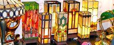 Tiffany Lampen, Lampen im Tiffany-Stil & Tiffany Deckenleuchte,- English Decorations.