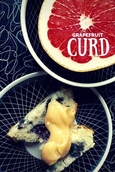 Grapefruit curd is like lemon curd on steroids, intensely sweet with enough bitterness to give it some muscle.