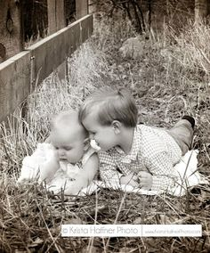 Sibling Picture Idea.  Adorable