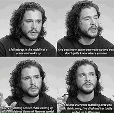 Game of thrones funny humour meme, Kit Harington, Jon Snow Game Of Thrones Quotes, Game Of Thrones Funny, Kit Harington, Winter Is Here, Winter Is Coming, Breaking Bad, Game Of Throne Lustig, My Champion, Livros