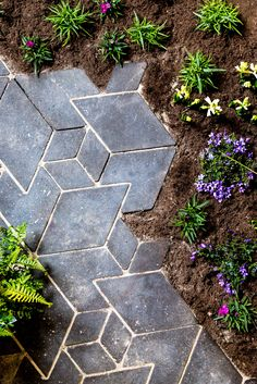 make secret paths through your garden with our new Circular Cityscapes tiles.