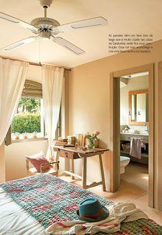Estábulo vira casa de campo. Veja: http://www.casadevalentina.com.br/blog/materia/est-bulo-vira-casa-de-campo.html #decor #decoracao #interior #design #details #detalhes #charm #house #casa #home #bedroom #quarto #casadevalentina