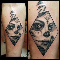 Tattoo by Nasa Nyc Tattoo, Tattoo Shop, Body Language Tattoo, Queens Nyc, Custom Tattoo, Cute Tattoos, Nasa, Tattoo Ideas, Skull