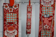 Tuesday Tutorial - Hanging Jewelry Organizer - The Polka Dot Chair
