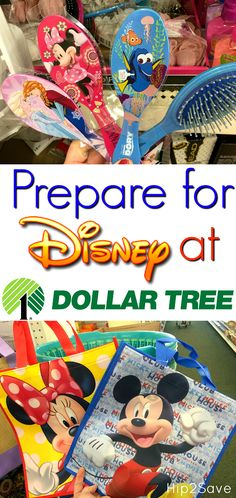 Planning a Disney vacation or birthday party? Head to Dollar Tree where you may find LOTS of awesome Disney themed items to take with you, and all just $1 each!