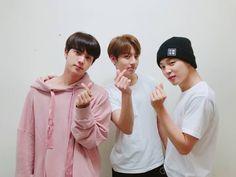 ♡ Jin, Jungkook & Jimin ♡