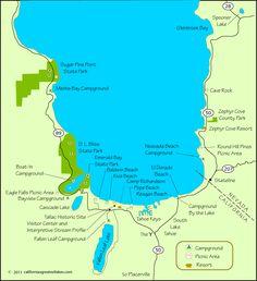 Campgrounds at South Lake Tahoe