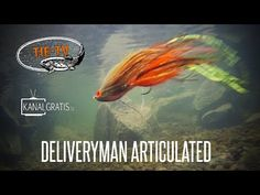 Tie TV - DeliveryMan Articulated (Pike/Muskie Fly) - Andreas Andersson - YouTube