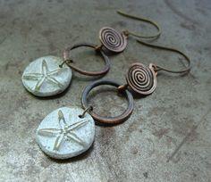 Sun and Surf Earrings   Humblebeads Jewelry