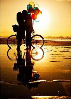 .atardecer en bicicleta Beach & bike