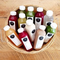 Pressed Juicery - Cold Pressed Juice I can't wait to to try this cleanse! Yummy Drinks, Healthy Drinks, Healthy Snacks, Healthy Recipes, Juice Recipes, Yummy Food, Juice Smoothie, Smoothies, Glace Fruit