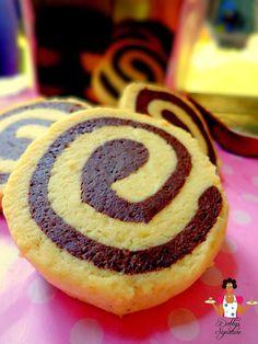 Dobbys Signature: Nigerian food blog | Nigerian food recipes | African food blog: How to Make Chocolate Pinwheel Cookies