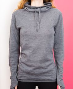 Merino Long Sleeved Knit - Grey // Findra
