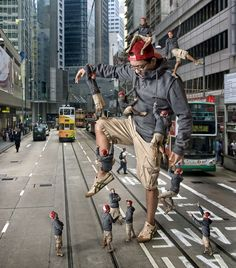 30 Most Incredible Photo Manipulation and Photoshop Clone works for your inspiration