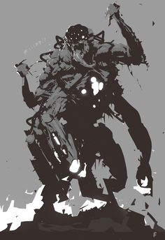 Monster Concept Art, Monster Art, Shadow Monster, Character Concept, Character Art, Beast Creature, Monster Design, Arte Horror, Creature Concept