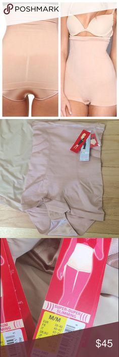 "SPANX Super-Duper Sliming Shapewear Rose Gold colored with satin accents throughout. Hook closure at the bottom. Considered ""super-duper"" slimming. Includes straps that can attach to your bra. Offers a seamless design that offers a comfortable feel. M=6-8 SPANX Intimates & Sleepwear Shapewear"