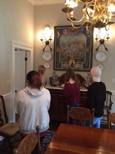 Students In The Interior Design Program Toured Two Historic Homes Athens Georgia We