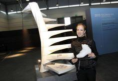 Carolina Kostner, testimonial for Marmomacc 2013. Credits: Ennevi - Veronafiere