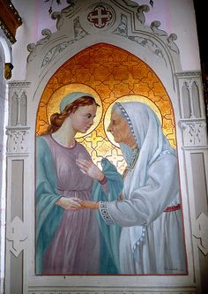 The Visitation    By Friar L. Schiocchetti 1945