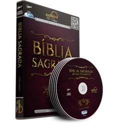 BÍBLIA SAGRADA   AUDIOLIVRO A BÍBLIA SAGRADA - ANTIGO E NOVO TESTAMENTO