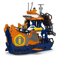 Imaginext® Deep Sea Mission Command Boat | Mattel