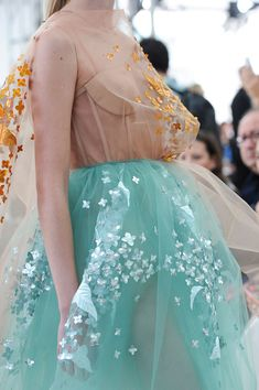Details from DELPOZO Spring/Summer 2015. New York Fashion Week.