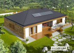 Projekt domu AC EX 8 (wersja B) soft CE - DOM - gotowy koszt budowy