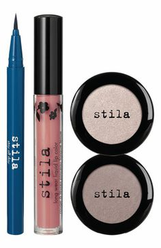 stila 'blue jean baby' makeup set available at #Nordstrom