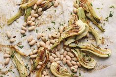 Roasted fennel that
