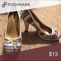 Heels Extremely comfortable, fun and colorful heels Shoes Heels